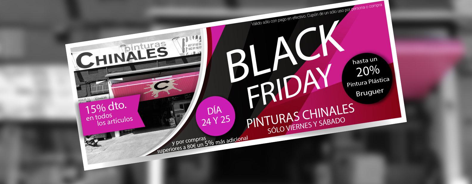 Black Friday Pinturas Chinales