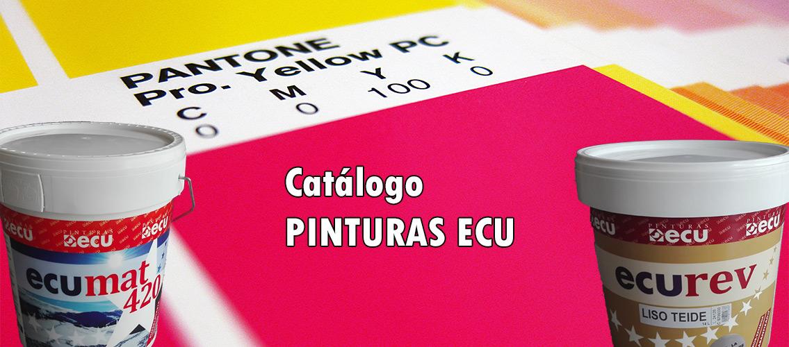 Catálogo Pinturas ECU